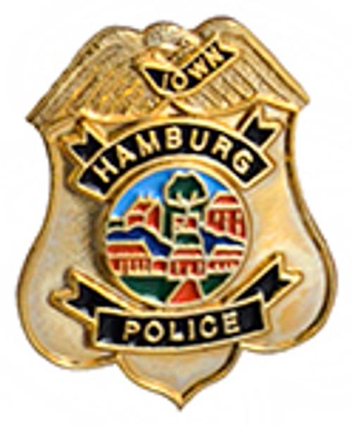 HAMBURG POLICE BADGE LAPEL PIN