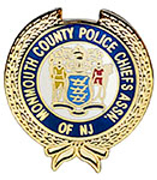 MONMOUTH COUNTY POLICE CHIEFS ASSOCIATION OF NEW JERSEY LAPEL PIN