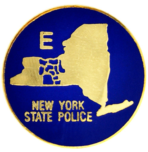 NEW YORK STATE POLICE TROOP E Lapel Pin