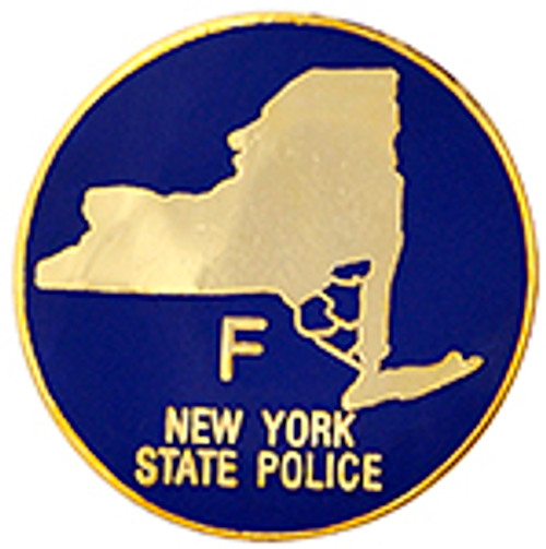 NEW YORK STATE POLICE TROOP F Lapel Pin