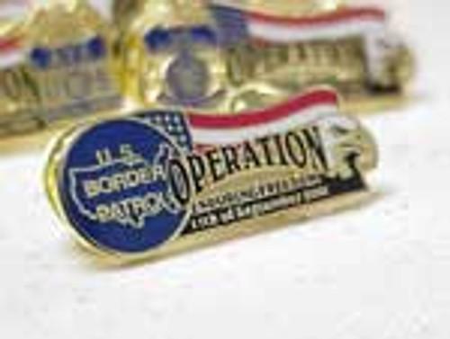 Operation Enduring Freedom Border Patrol Commemorative Lapel Pin