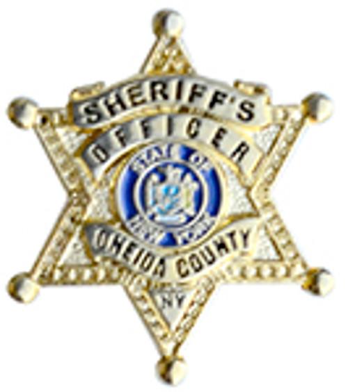 Oneida County  NY Sheriffs Office Badge Lapel Pin