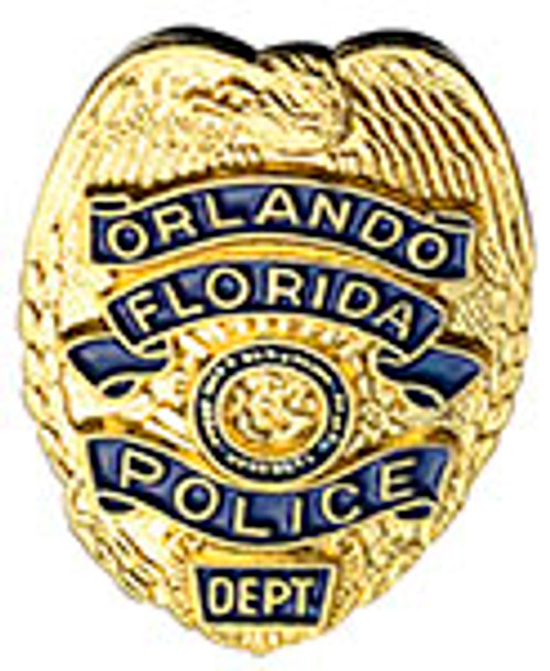 ORLANDO FLORIDA POLICE BADGE LAPEL PIN