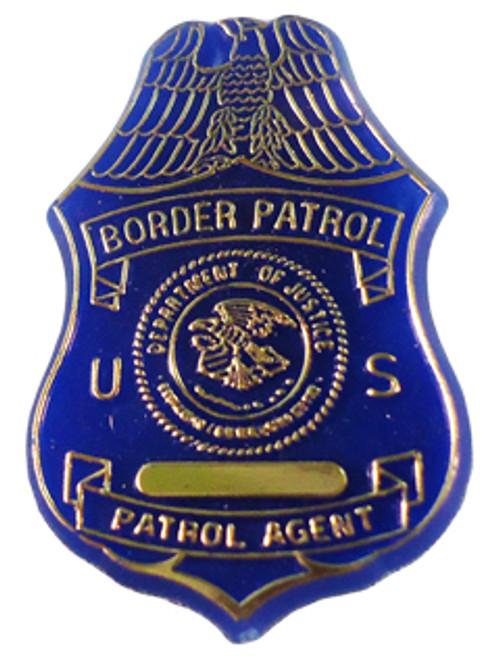 US Border Patrol Plastic Pin
