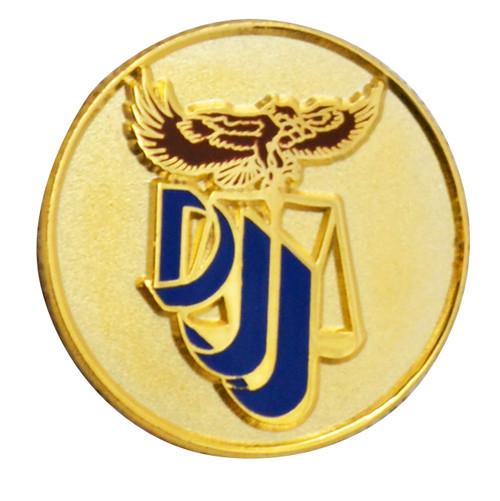 Florida Department  of  Juvenile Justice Lapel Pin
