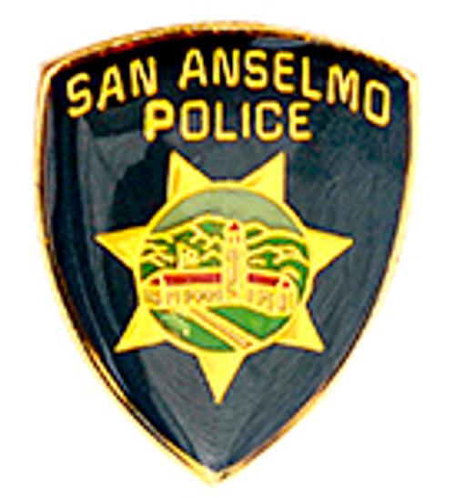 SAN ANSELMO POLICE DEPARTMENT LAPEL PIN