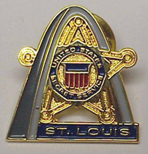 St. Louis Secret Service Pin