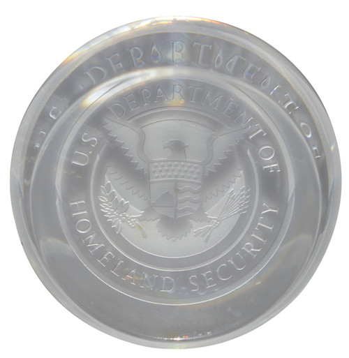 Department of Homeland Security Paperweight