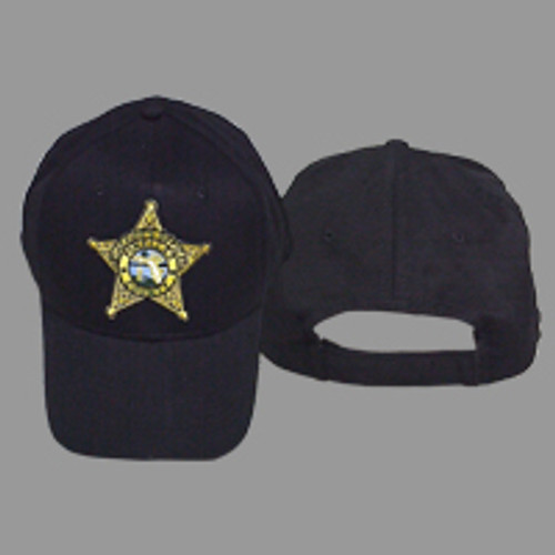 Pinellas County Sheriff's Office Gold Star Black Hat