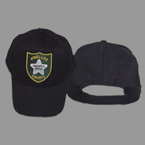Pinellas County Sheriff's Office Patch Black Hat