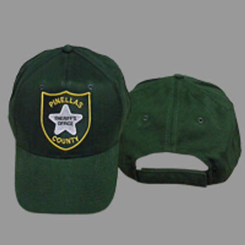 Pinellas County Sheriff's Office Patch Green Hat