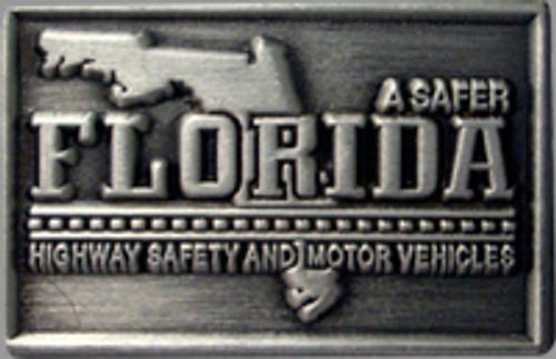 Florida Highway Safety & Motor Vehicles Silver Pin