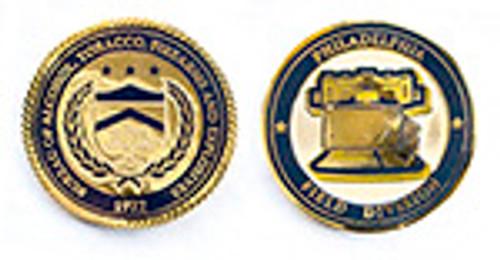 ATF&E Philadelphia Field Division Challenge Coin