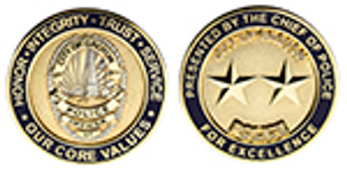 City of Groton Police Challenge Coin