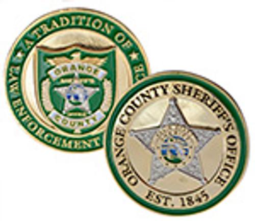 Orange County Florida Sheriffs Office Challenge Coin