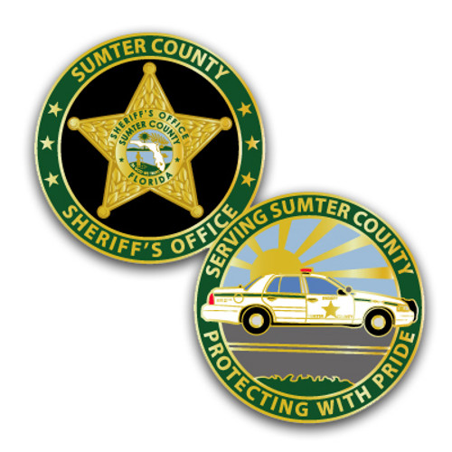 Sumter County Sheriff's Office Challenge Coin