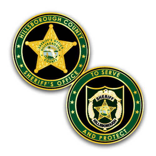 Hillsborough County Sheriff's Office Challenge Coin