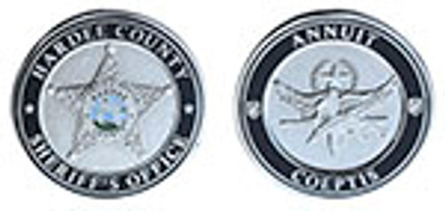 Hardee County Sheriff's Office SWAT Challenge Coin