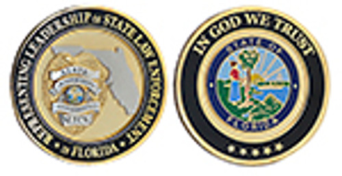 SLECA Florida Challenge Coin