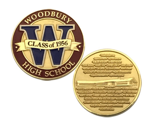 Woodbury High School Challenge Coin