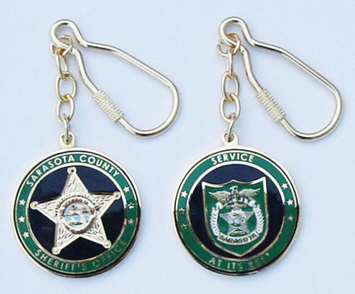 Sarasota County Sheriff`s Office Challenge Coin