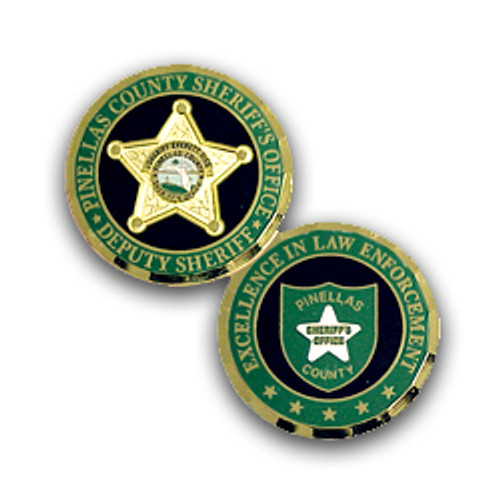 Pinellas  County Sheriff's Office Deputy Sheriff Commemerative Coin
