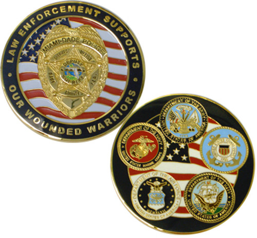 MDPD POAT Wounded Warriors Coin