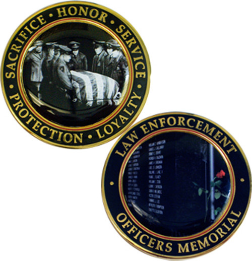 Law Enf.  Officers Memorial Coin