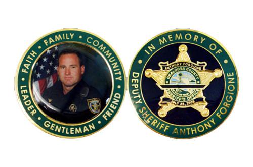Anthony Forgione Memorial Coin