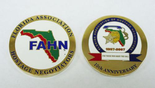FAHN 10th Anniversary Coin
