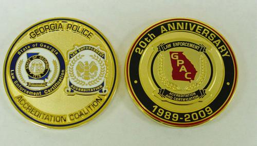 GPAC 20th Anniversary  Coin