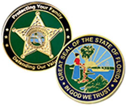 NASSAU COUNTY SHERIFF COIN