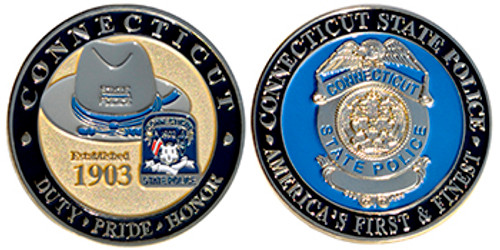 CONNECTICUT STATE POLICE, AMERICA'S FIRST AND FINEST