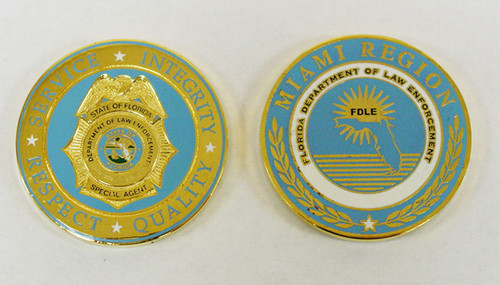 Florida Department of Law Enforcement Special Agent  Coin