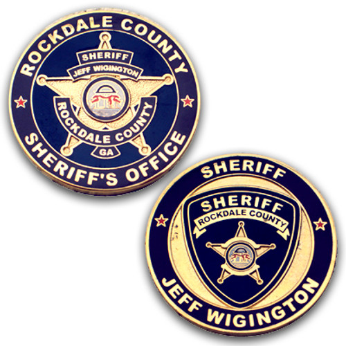 Rockdale County Sheriff's Office Coin