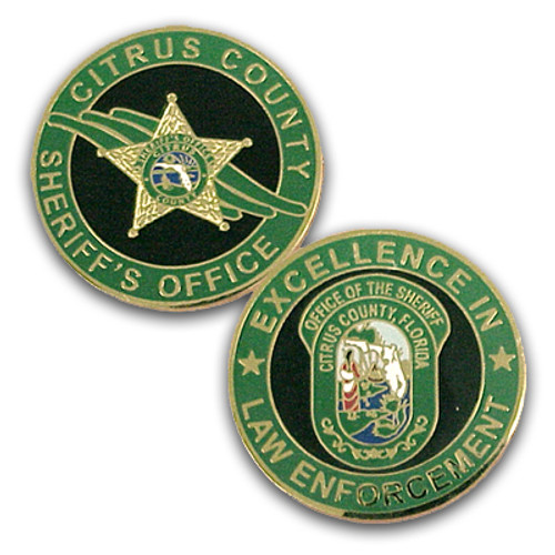 Citrus County Sheriff's Office Coin