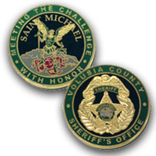 Volusia County Sheriff's Office St. Michael Coin