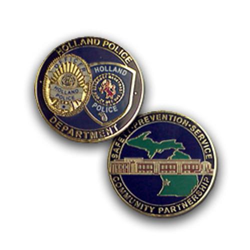 Holland Police Coin
