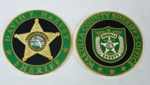 Wakulla County Sheriff`s Office Coin