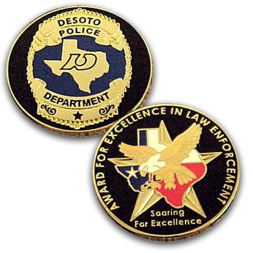 DeSoto Police Department Coin