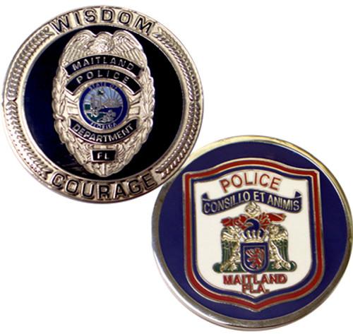 Maitland, FL PD Coin