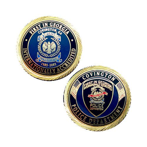Covington Police Department Coin