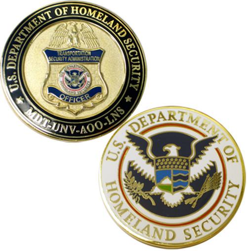 DHS TSA Officer Coin