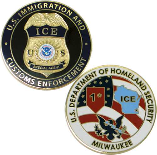 ICE Milwaukee Coin Gold