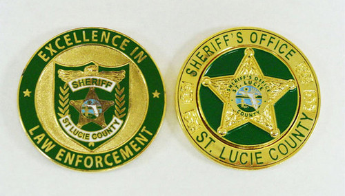 St. Lucie County Sheriff's Office Coin