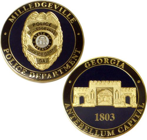 Milledgeville Police (GA) Coin