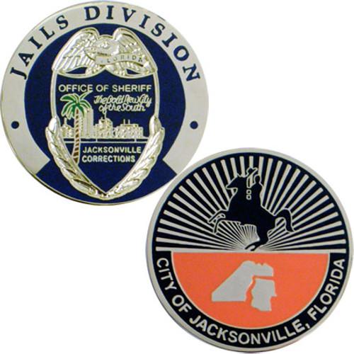 Jacksonville Jails Coin - Horse & Rider