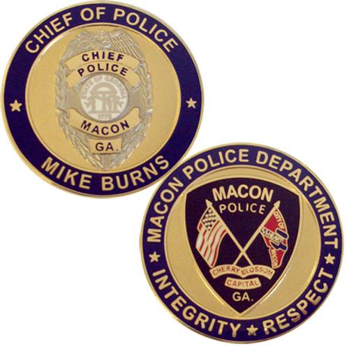 Macon Police Coin