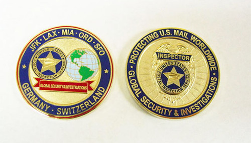 USPS Inspector Coin