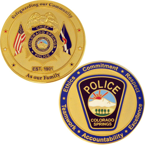 Colorado Springs Coin GOLD